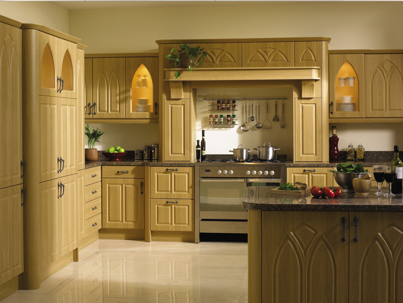 Broadway Lissa Oak Gothic Kitchen
