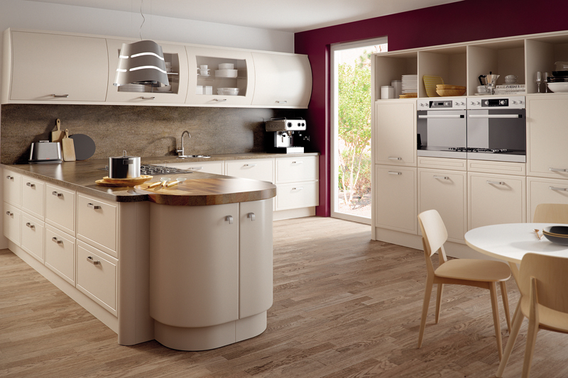 Euroline - Matt Cashmere Kitchen