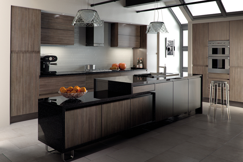 Knebworth - Avola Flint Grey Knebworth Kitchen