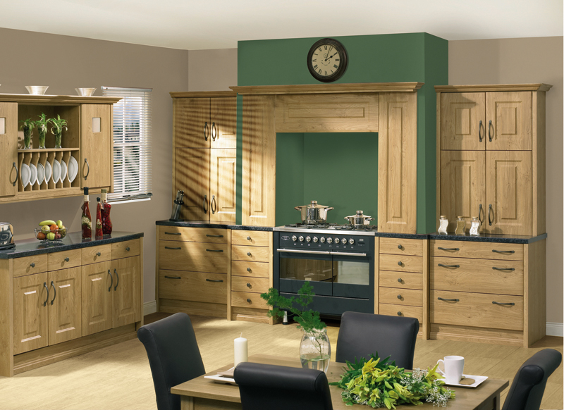 Oxford - Pippy Oak Oxford Kitchen