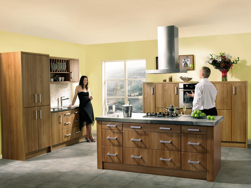Rimini - Light Walnut Rimini Kitchen