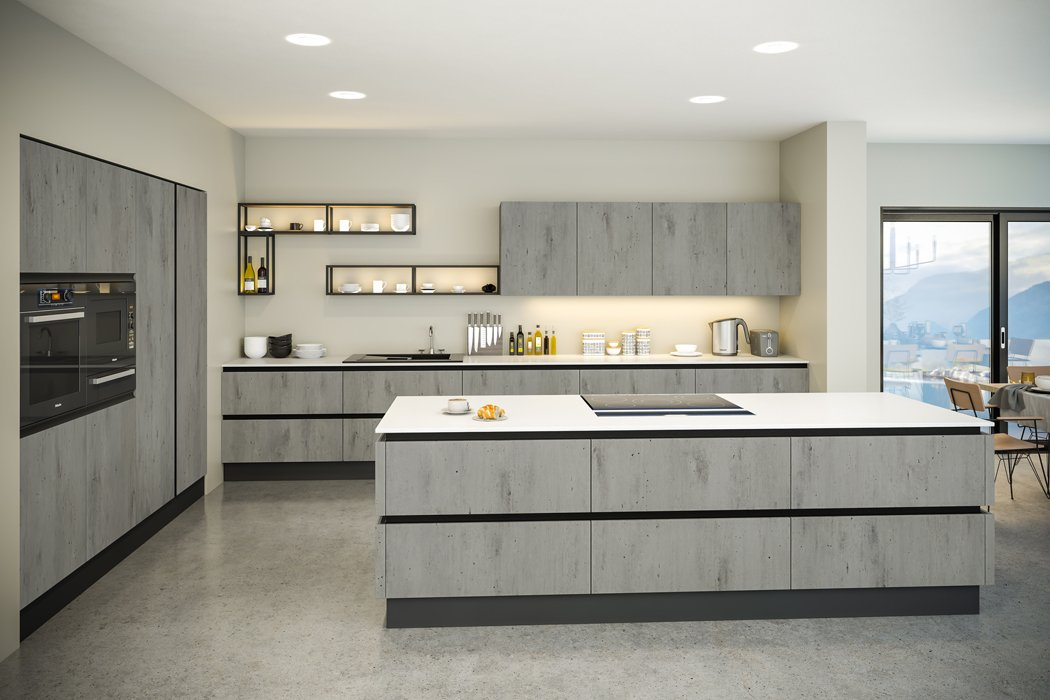 London Concrete Venice Kitchen
