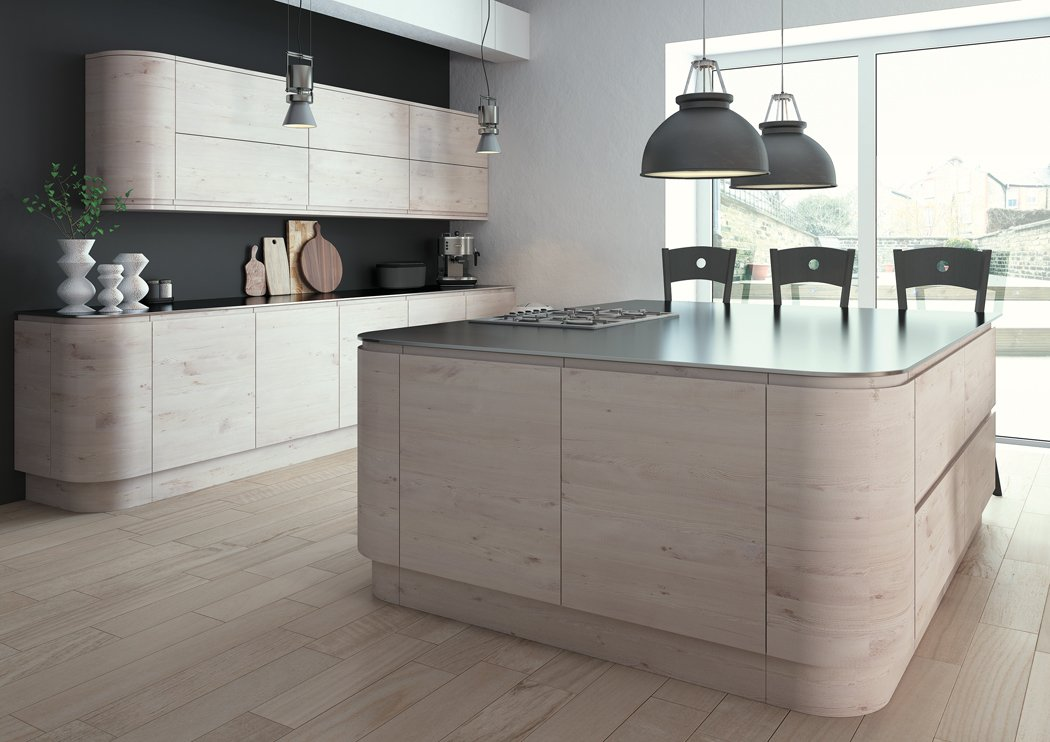 Pronto Malton Hemlock Nordic Kitchen