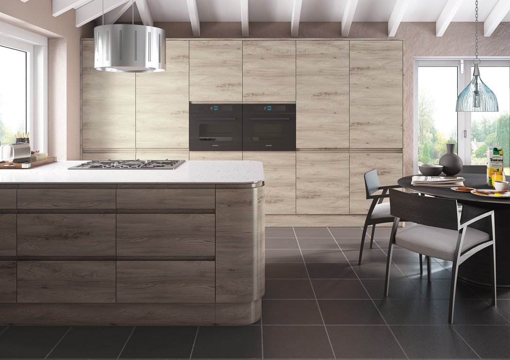 Pronto Malton Stone Elm Kitchen