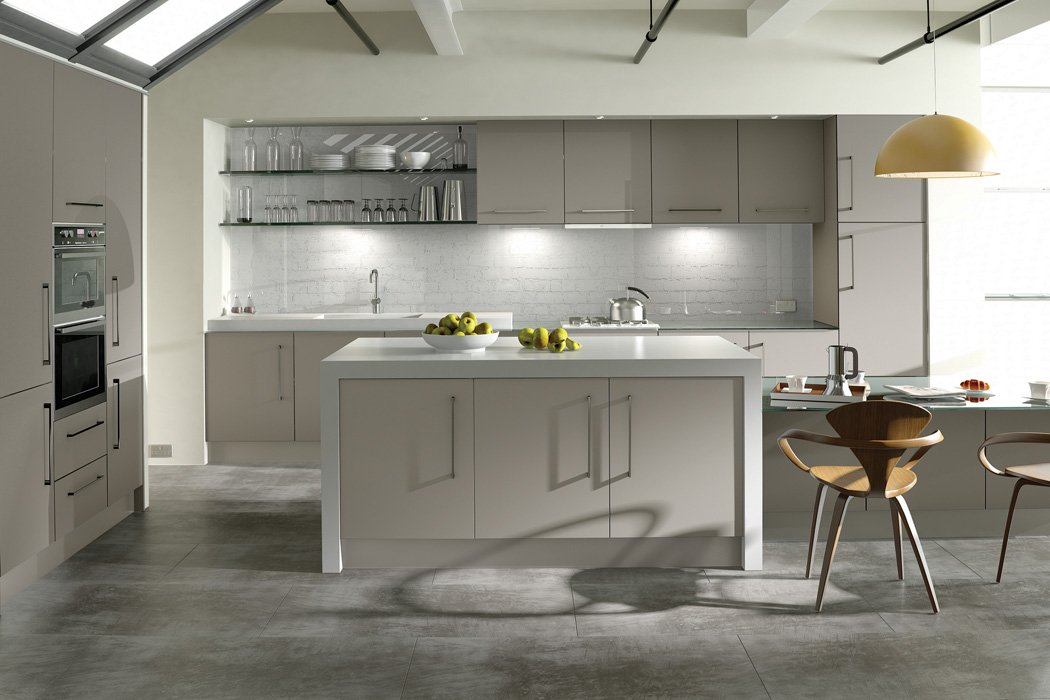 Zurfiz Suprmatt Metallic Cashmere Kitchen