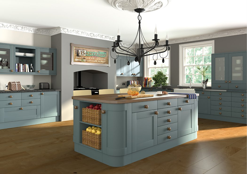 Pronto Wilton Woodgrain Paintable Kitchen