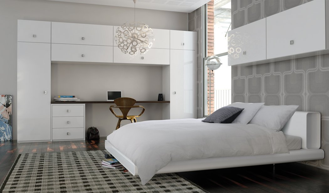 Zurfiz Ultragloss White Bedroom