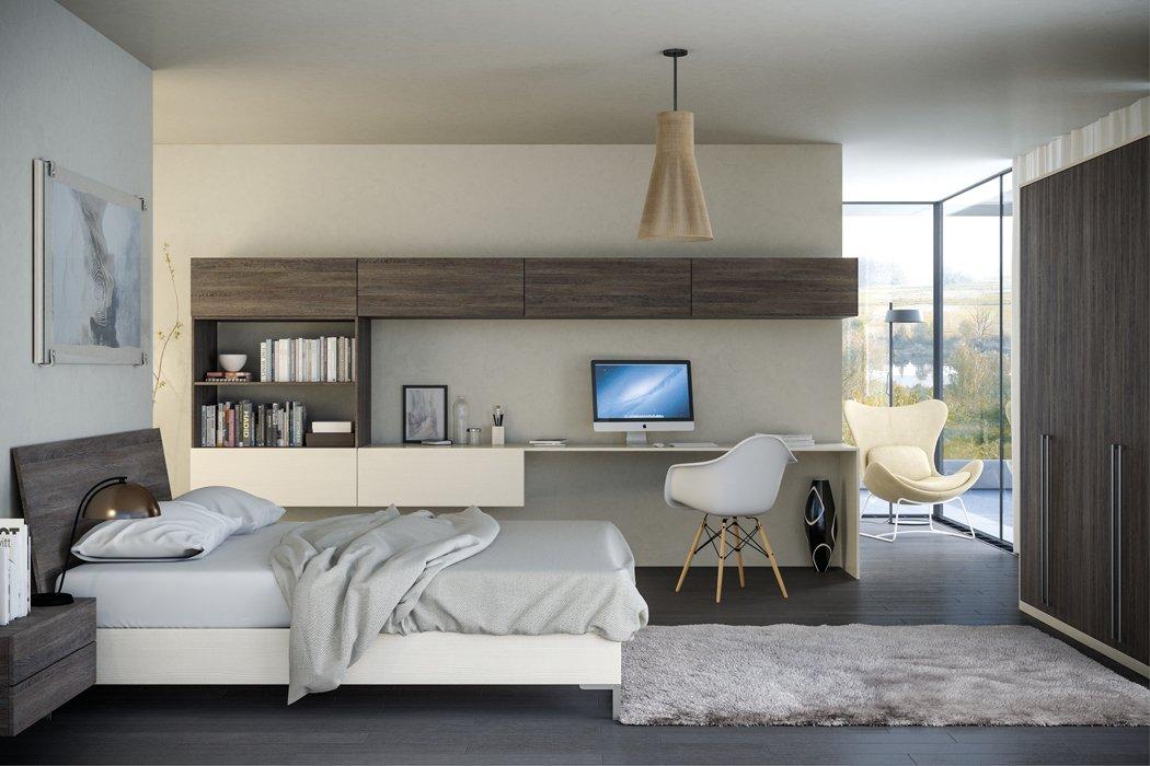 Valore Mussel Mali Wenge Bedroom