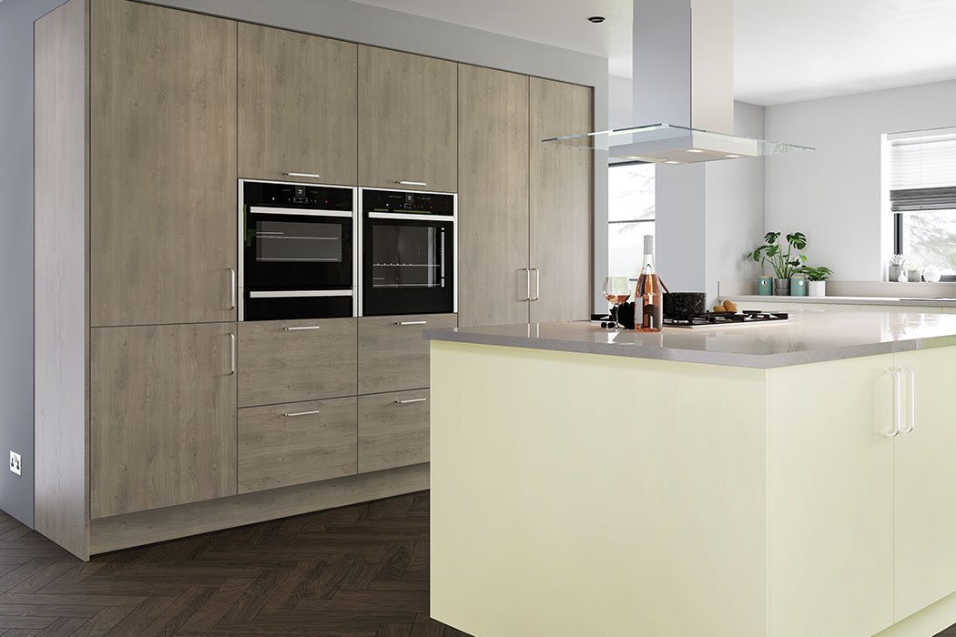 Valore Smooth Alabaster Kitchen