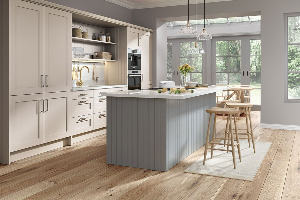 Pronto Wilton Oakgrain Cashmere Kitchen