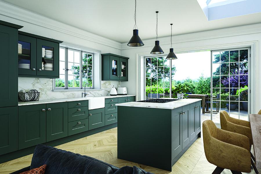 Bella Carrick Matt Kombu Green Kitchen